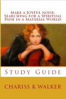 Cover for 'Make a Joyful Noise: Searching for a Spiritual Path in a Material World Study Guide'