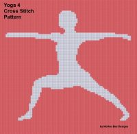 Cover for 'Yoga 4 Cross Stitch Pattern'