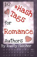 Cover for '167 Hash Tags for Romance Authors by Rusty Fischer'