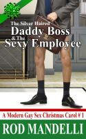 Cover for 'A Modern Gay Sex Christmas Carol # 1: The Silver Haired Daddy Boss & The Sexy Employee (M/m BDSM Humiliation Erotica) (Workplace Sex)'