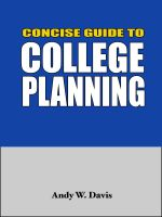 Cover for 'Concise Guide to College Planning'