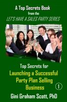 Cover for 'Top Secrets for Launching a Successful Party Plan Selling Business'