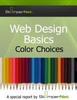 Cover for 'Web Design Basics Color Choices'