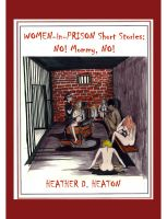Cover for 'Women-in-Prison Short Stories:  No! Mommy, No!'