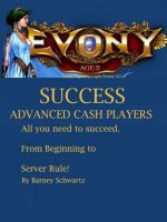 Cover for 'Evony Age 2 Success for Advanced CASH Players'