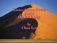 Cover for 'Science Fiction Novels About Oil Gas Energy'