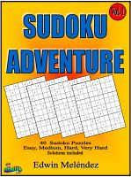Cover for 'Sudoku  Adventure'