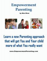 Cover for 'Empowerment Parenting'