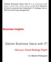 Cover for 'Business Insights: Deliver Business Value with IT! - Get your Cloud Strategy Right!'
