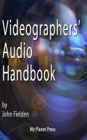 Cover for 'Videographer's Audio Handbook'