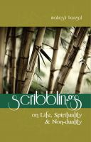 Cover for 'Scribblings: On Life, Spirituality & Non-duality'