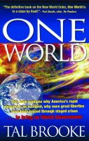 Cover for 'One World'