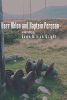 Cover for 'Herr Ahlen and Kaptein Persson'