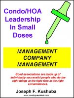 Cover for 'Condo/HOA Leadership in Small Doses – Management Company Management'