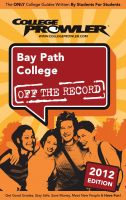 Cover for 'Bay Path College 2012'