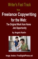 Cover for 'Writer's Fast Track to Freelance Copywriting for the Web:  The Original Work from Home Job Opportunity'