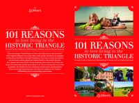 Cover for '101 Reasons to Love Living in The Historic Triangle'