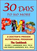 Cover for '30-Days To No More PMS,The Cookbook'