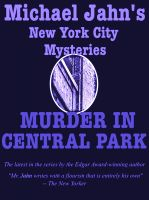 Cover for 'Murder in Central Park'