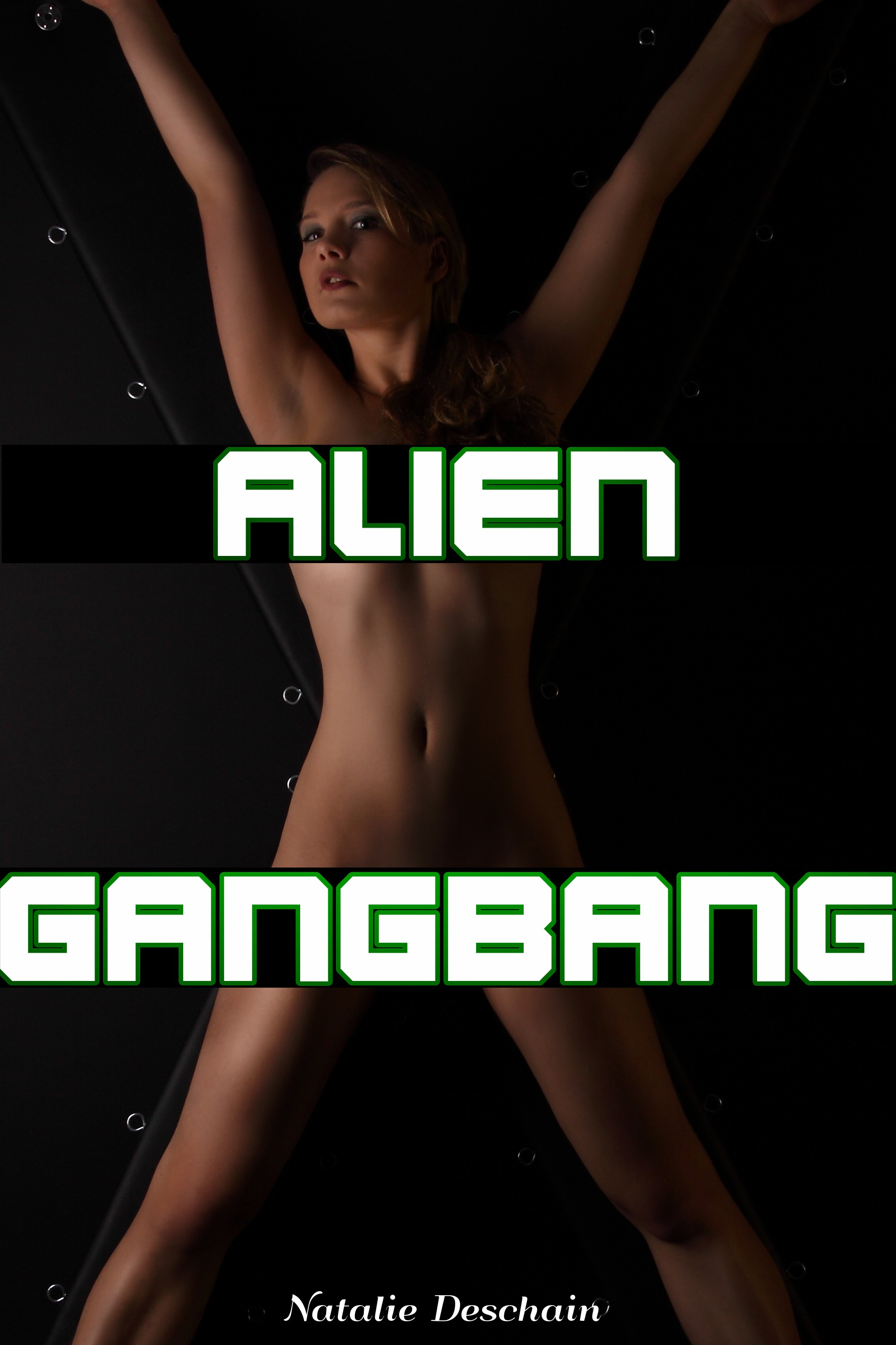 Natalie Deschain - Alien Gangbang (Monster Bondage and Breeding)