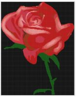 Cover for 'Rose 2 Cross Stitch Pattern'