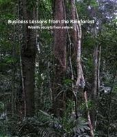 Cover for 'Business Lessons from the Rainforest.'