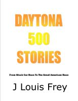 Cover for 'Daytona 500 Stories'