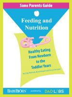 Cover for 'Sane Parents Guide: Feeding and Nutrition'