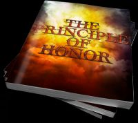 Cover for 'THE PRINCIPLE OF HONOR'