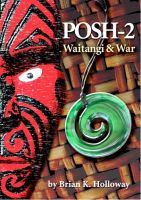 Cover for 'Posh-2 Waitangi and War'