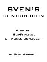 Cover for 'Sven's Contribution'
