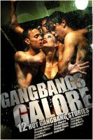 Cover for 'Gangbangs Galore (12 Hot Gangbang Stories)'
