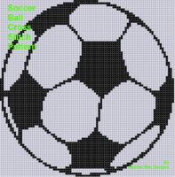 Cover for 'Soccer Ball Cross Stitch Pattern'