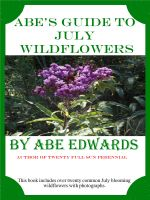 Cover for 'Abe's Guide to July Wildflowers'