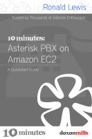 Cover for '10 Minutes: Asterisk PBX on Amazon EC2'