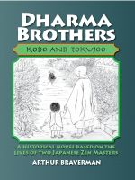 Cover for 'Dharma Brothers Kodo and Tokujoo'