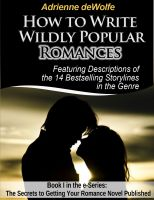 Cover for 'How to Write Wildly Popular Romances'