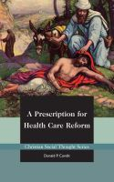 Cover for 'A Prescription for Health Care Reform'