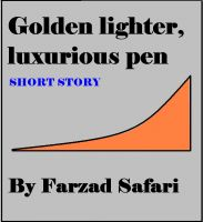 Cover for 'Golden Lighter, Luxurious Pen'