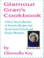 Cover for 'Glamour Gran's Cookbook'