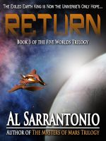 Cover for 'Return - Book III in the Five Worlds Trilogy'