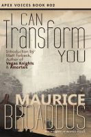 Cover for 'I Can Transform You'