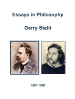 Cover for 'Essays in Philosophy'