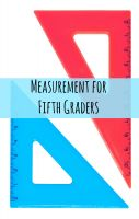 Cover for 'Measurement for Fifth Graders'