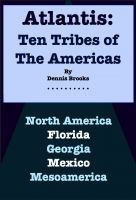 Cover for 'Atlantis: Ten Tribes of  The Americas'