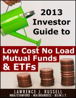 Cover for 'Investor Guide to Low Cost No Load Mutual Funds and ETFs'