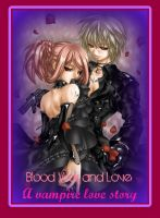 Cover for 'Blood War and Love {A vampire love story}'