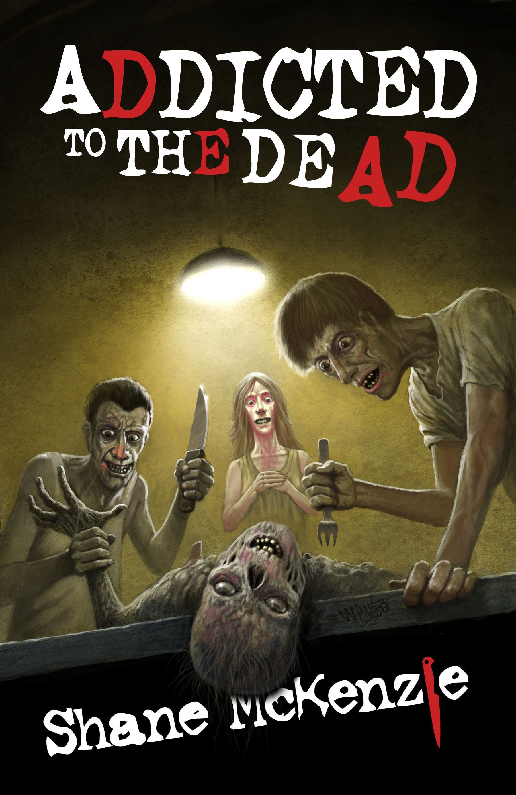 Dark Regions Press - Addicted to the Dead