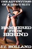 Cover for 'Hammered From Behind - The Adventures of a Dirty Slut: Volume One'