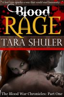 Cover for 'Blood Rage - A Paranormal Romance Novella'